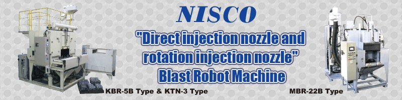NISCO-JP CO,.Ltd(NISCO-JP株式会社)Blast Robot Machine Maker